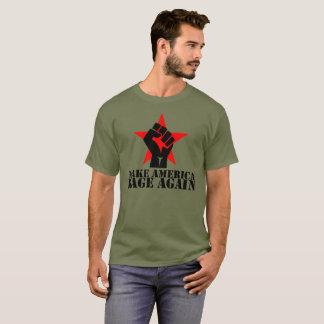Make America Rage Again T-Shirt- Black Letters T-Shirt