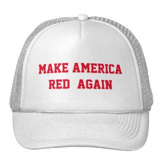 MAKE AMERICA RED AGAIN CAP