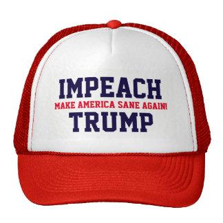"""Make America Sane Again! Impeach Trump"" Cap"
