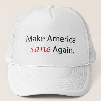 Make America Sane Again Trucker Hat