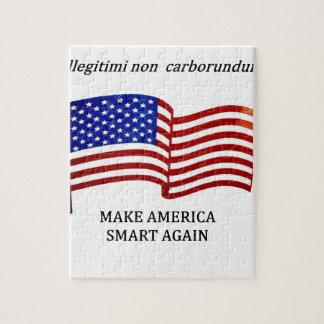 MAKE AMERICA SMART JIGSAW PUZZLE