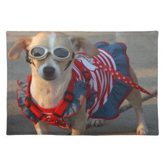 Make America Smile Again Cute Patriotic Placemat