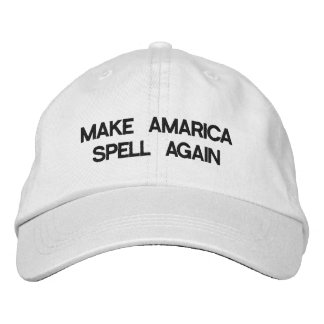 Make America Spell Again Hat Embroidered Baseball Caps