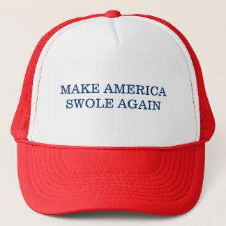 Make America Swole Again Trucker Hat
