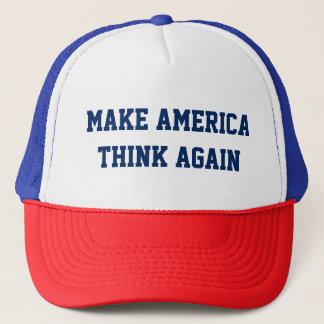 Make America Think Again - Custom Baseball Cap
