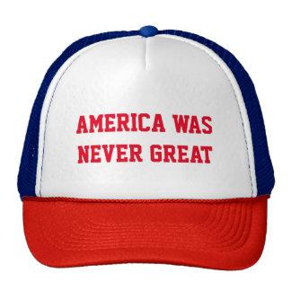 MAKE AMERICA WHITE AGAIN CAP