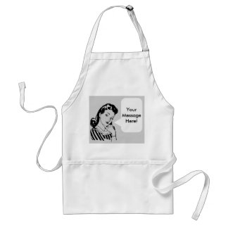 Make an apron - Add picture and text