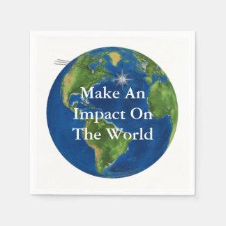 Make An Impact Disposable Serviette