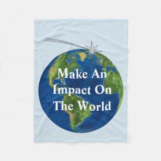 Make An Impact Fleece Blanket