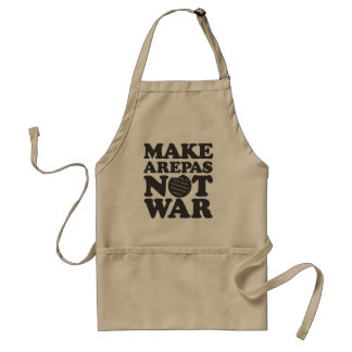 Make Arepas NOT War Standard Apron