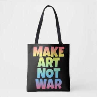 Make Art Not War Bag