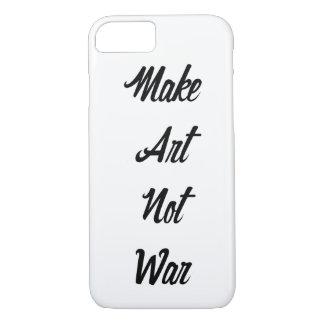 Make Art Not War iPhone 7 Case
