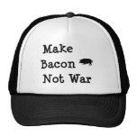 Make Bacon Not War-For Bacon Lovers Hats