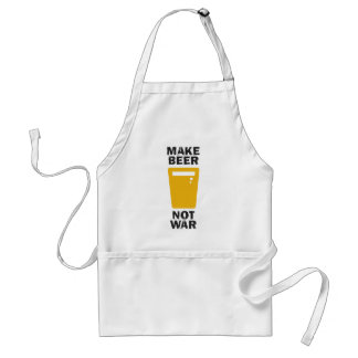 Make Beer, Not War Standard Apron