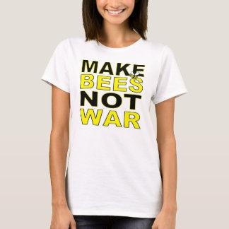 Make Bees Not War T-Shirt