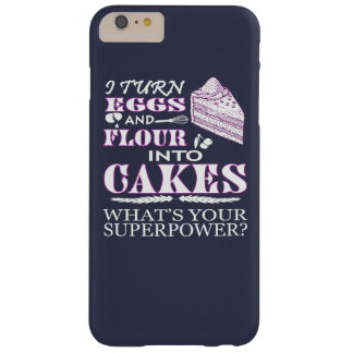 MAKE CAKES BARELY THERE iPhone 6 PLUS CASE
