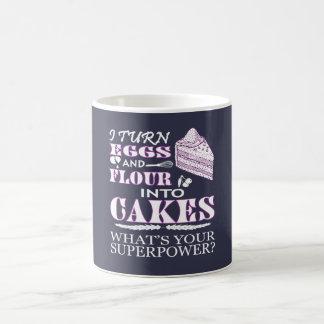 MAKE CAKES COFFEE MUG