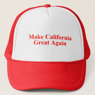 MAKE CALIFORNIA GREAT AGAIN HATS