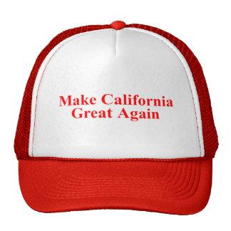 MAKE CALIFORNIA GREAT AGAIN HATS