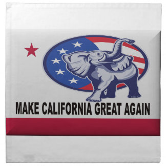 Make California Great Again Napkin