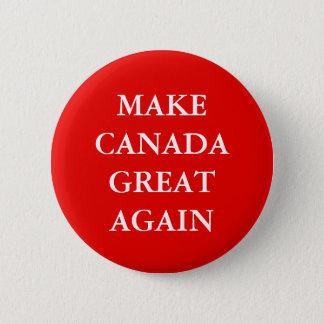 """MAKE CANADA GREAT AGAIN"" PARODY 6 CM ROUND BADGE"