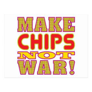 Make Chips Postcard