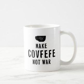 make covfefe not war coffee mug