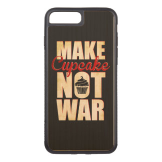 Make cupcake not war carved iPhone 8 plus/7 plus case