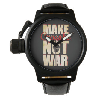 Make cupcake not war watch