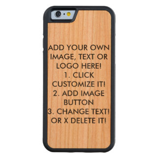 Make, Design Your Own. Customize Image, Text, Logo Cherry iPhone 6 Bumper