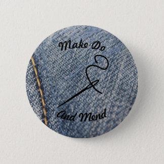 Make Do And Mend Badge