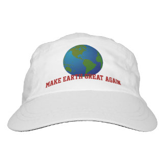 """Make Earth Great Again."" & Blue Earth Hat"