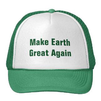 Make Earth Great Again Earth Day Cap