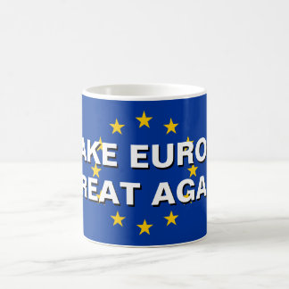 MAKE EUROPE GREAT AGAIN EU flag coffee mug
