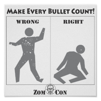 Make Every Bullet Count! Poster