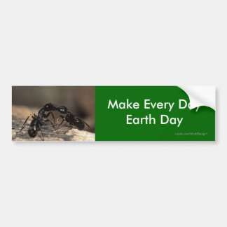 Make Every Day Earth Day Bumper Stickers