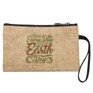Make Every Day Earth Day - Mini Clutch