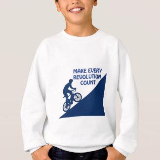Make every revolution count sweatshirt