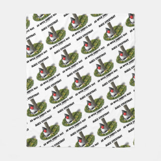 Make Everyday An Open Source Day Earth Day Java Fleece Blanket
