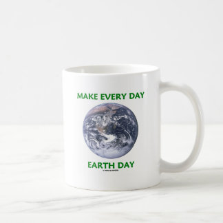 Make Everyday Earth Day (Blue Marble Earth) Mug