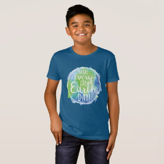 Make Everyday Earth Day Kids Shirt