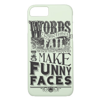 Make Faces iPhone 8/7 Case