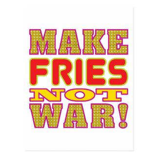 Make Fries Postcard