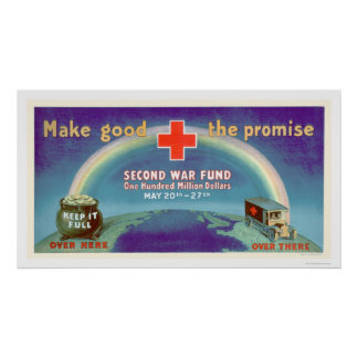 Make Good the Promise - 2nd War Fund (US00054B) Poster