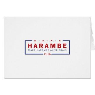 Make Harambe Alive Again Card
