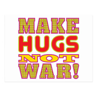 Make Hugs Post Card
