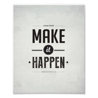 "Make it Happen - 8""x10"" Art Print"
