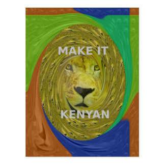 Make it Kenyan Postcard