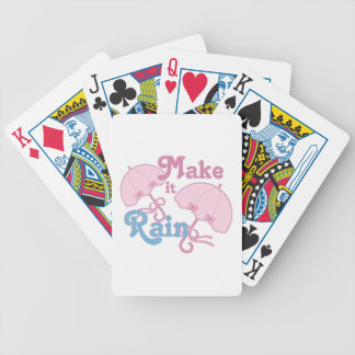 Make It Rain Poker Deck