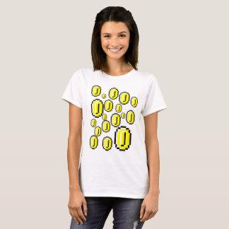 Make it rain Retro Gold Coins T-Shirt
